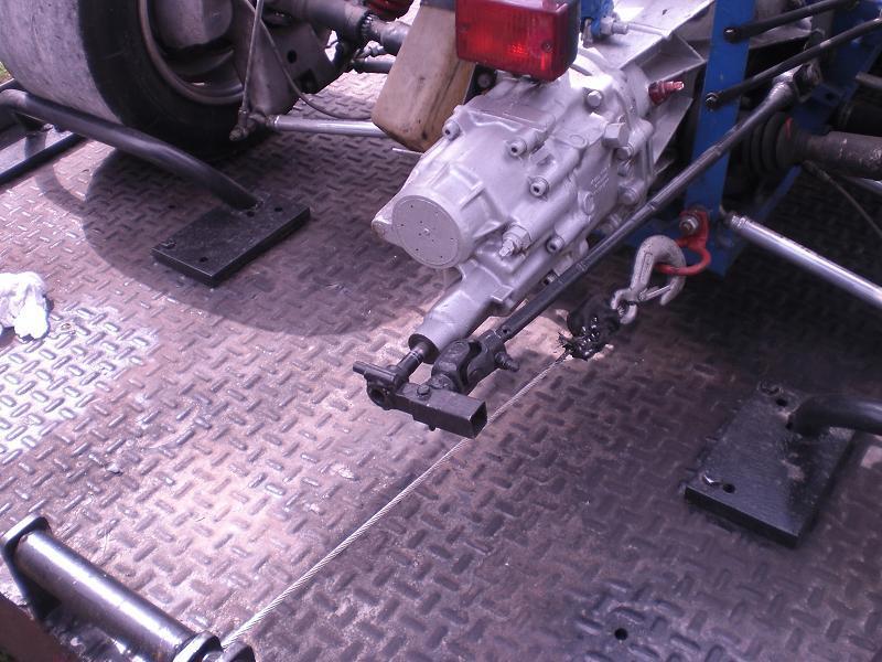 Making a Cable Gear Shift (UN1)   GT40s