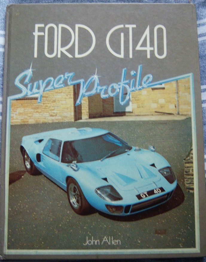 GT40 An Individual History and Race Record,1992 edition by Ronnie Spain.-100_4093-jpg