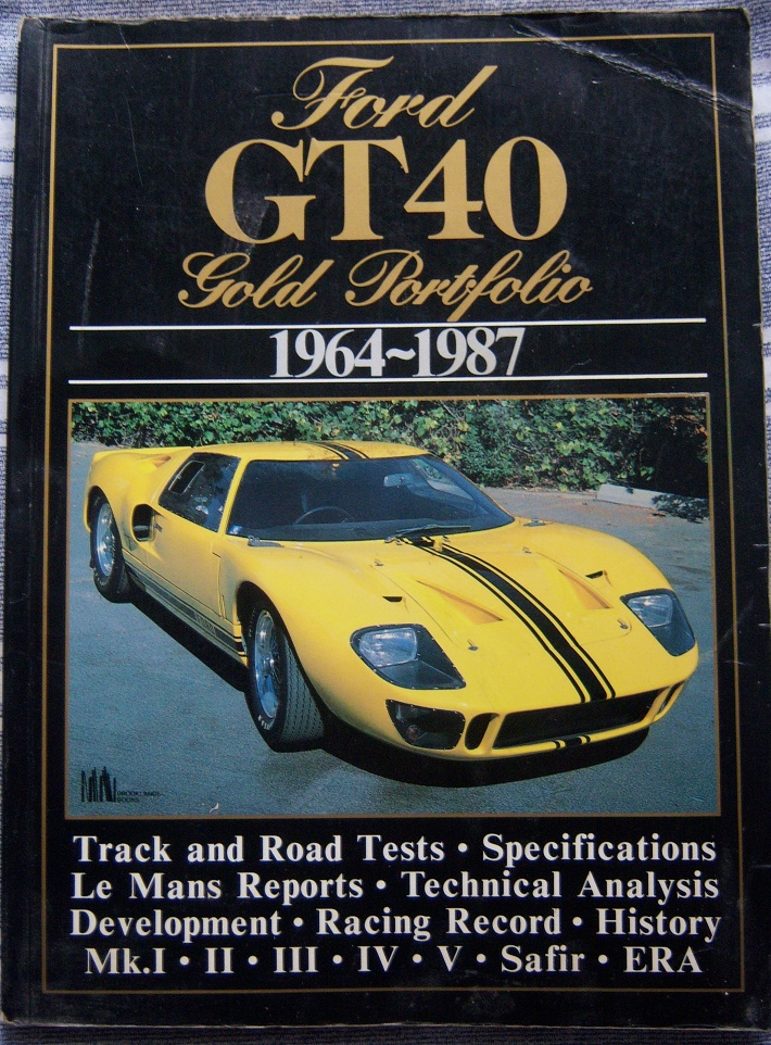 GT40 An Individual History and Race Record,1992 edition by Ronnie Spain.-100_4095-jpg