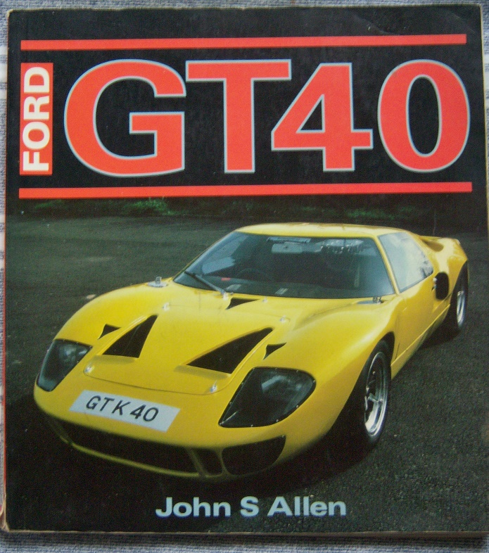 GT40 An Individual History and Race Record,1992 edition by Ronnie Spain.-100_4099-jpg