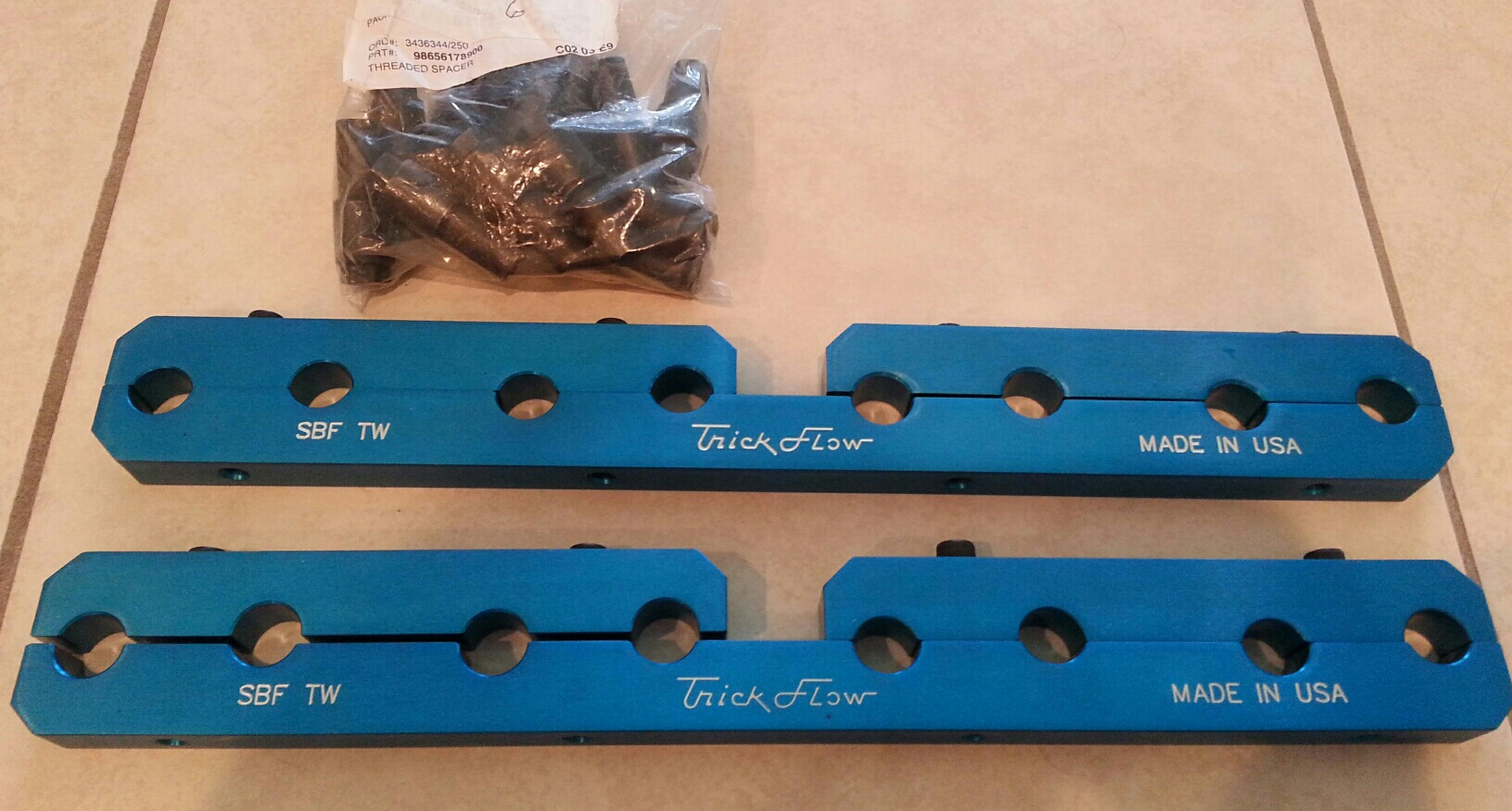 SBF Trick-flow twisted wedge rocker stud girdles and valve cover spacers-20170709_115633_resized-1-jpg
