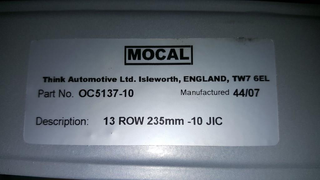 Mocal 13 Row -10 Oil Cooler-20180201_201536-jpg