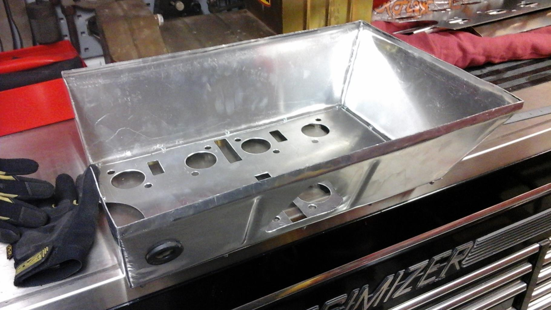 Gurney Eagle replica valve covers and cold air box-26011-jpg