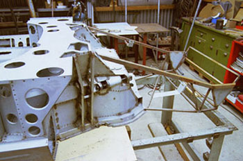 Classic Car Developments Chassis #3-26234-frontsubframe-jpg