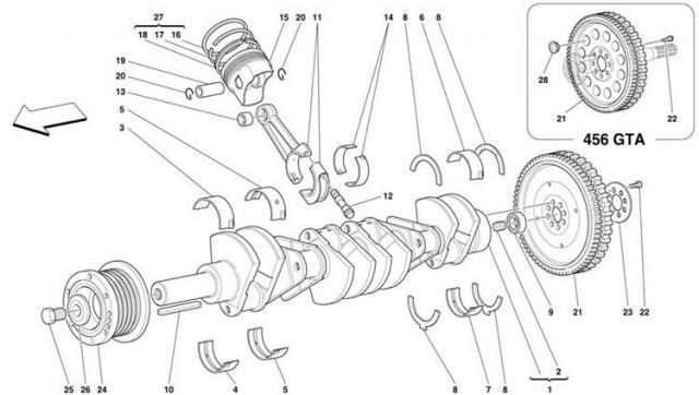 V8 Crankshaft Diagram - Wiring Diagram Write