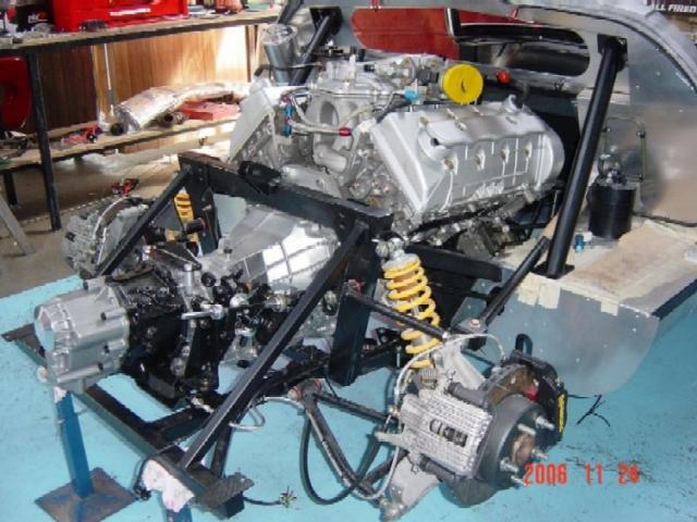 Anyone put a Ford Modular in a GT40 in UK?-62-jpg