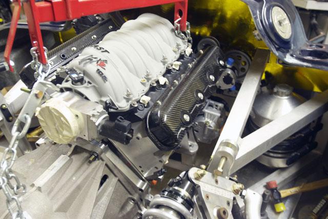 Carbon Fiber LS Valve Covers | GT40s