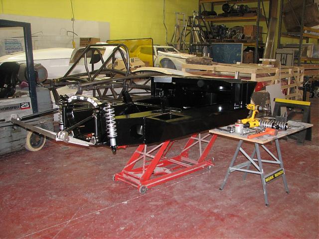 J. Salmon RCR-40 Build-chassis1-jpg