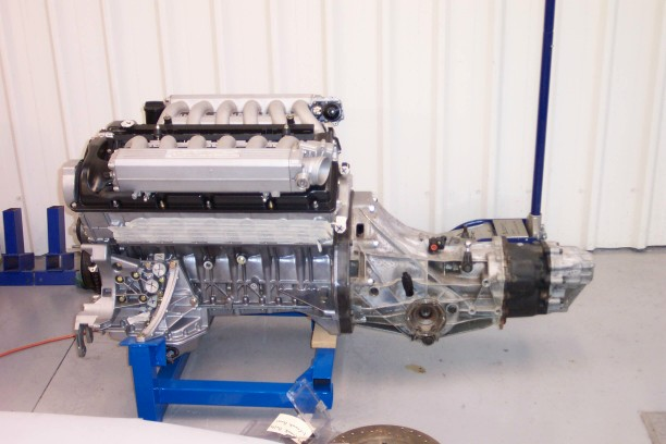 Bmw M60 V8 To A Audi 016 Gearbox Gt40s