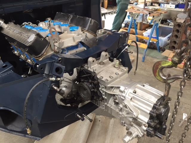 Classic Car Developments Chassis #3-engine-trans-jpg