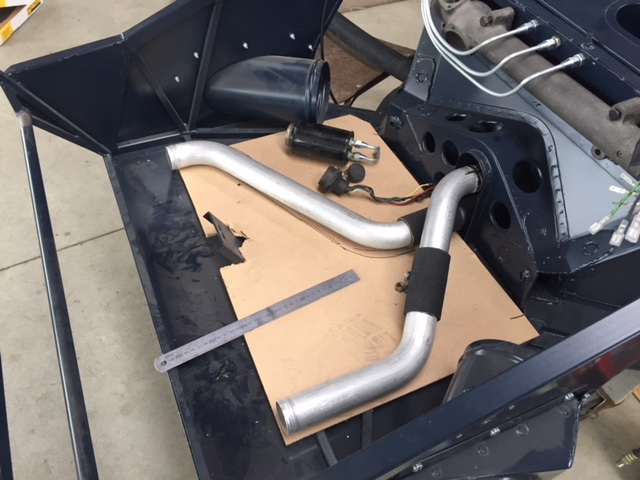 Classic Car Developments Chassis #3-front-pipes-jpg