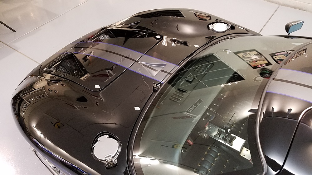 Sanding and polishing the GT's paint-front-shine-jpg
