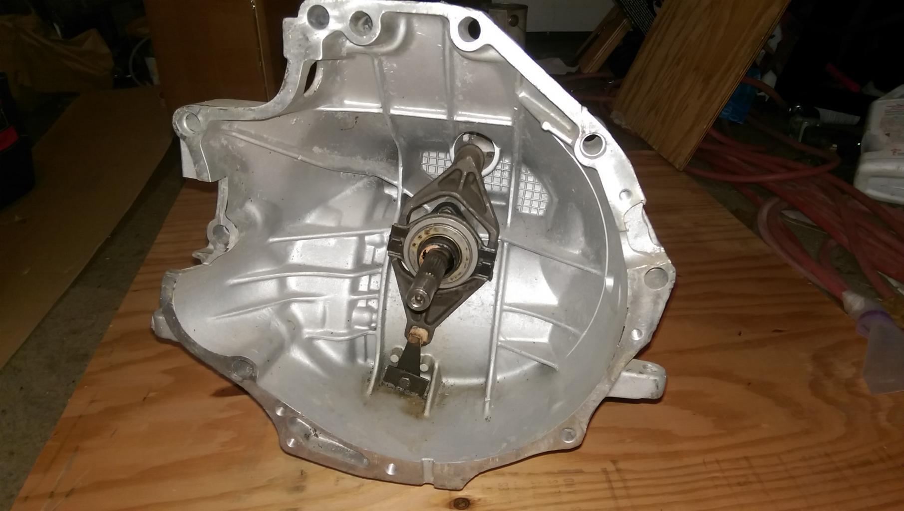 For Sale: rebuilt Audi 5N transaxle with reinforcement plate, LSD, & shifter-imag1154-jpg