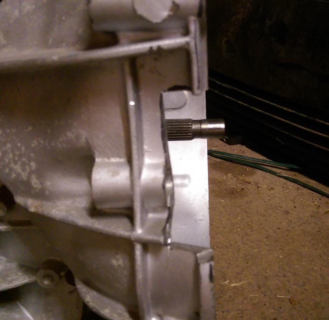 For Sale: rebuilt Audi 5N transaxle with reinforcement plate, LSD, & shifter-imag1204-jpg