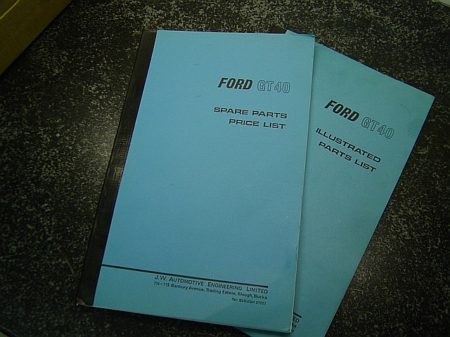 Wanted: Original and Superformance parts book/technical paperwork-jw-auto-parts-list-001-jpg