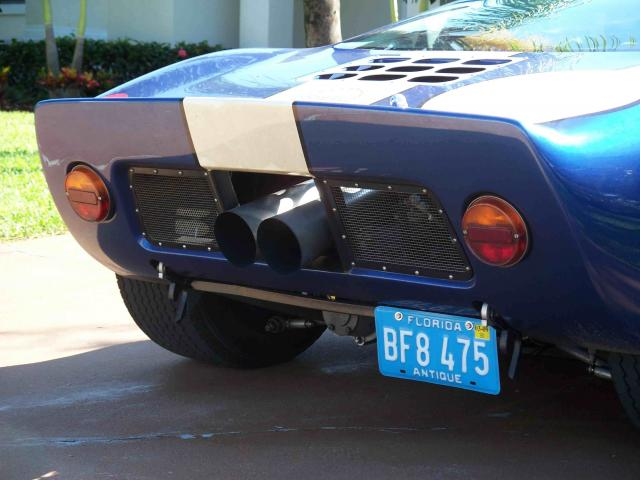Megaphone Exhausts on the SPF-megaphone-exterior-close-up-jpg