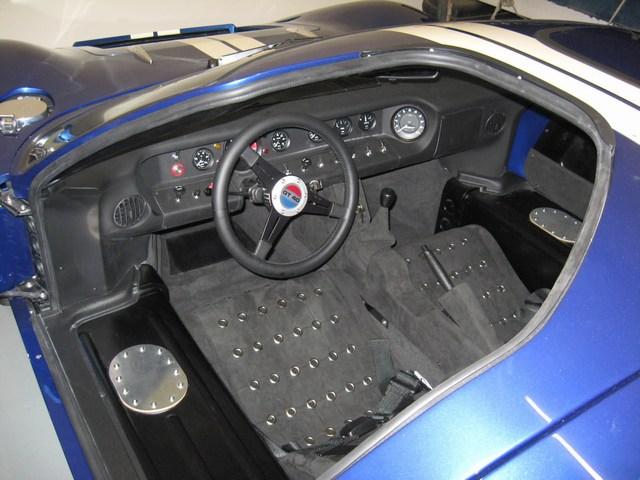 Superformance GT40 For Sale-mini-mkii-interior-jpg