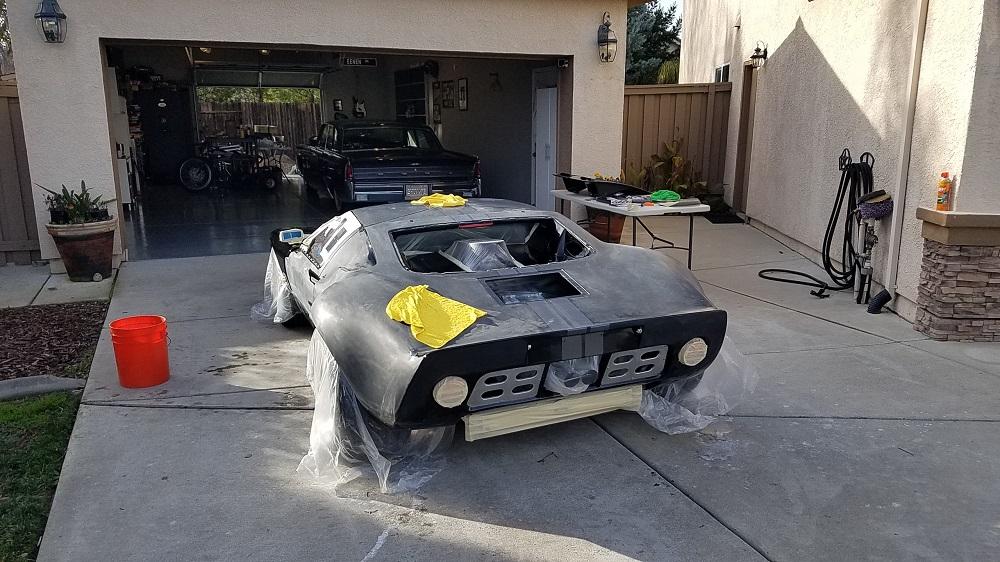 Sanding and polishing the GT's paint-sanded-car2-jpg