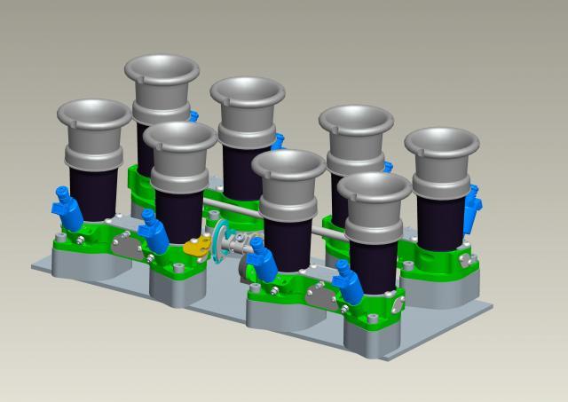 New IDA throttle bodies-t001-00082-_gen_assy_ford_gt40-jpg
