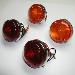 Early Mk I Stop/Indicator Tail Lights