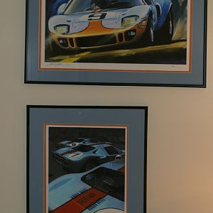 Gulf Cars in Acrylics
