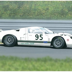 Comstock Racing Gt-40 by Ron Mills 2008