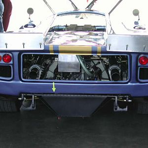 Lola T70 Mk3 in the Garage