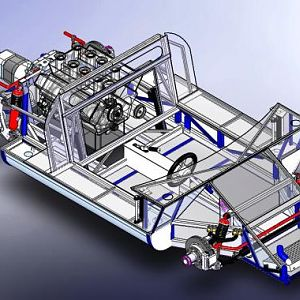 GT40 Chassis Drawings