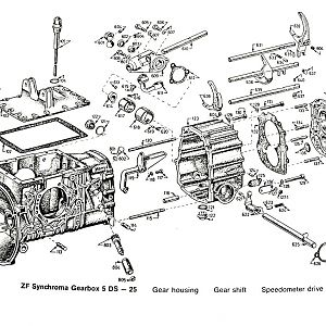 Parts Book, Transaxle externals