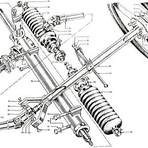 Parts Book, Steering
