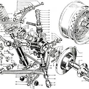 Parts Book, Front Suspension