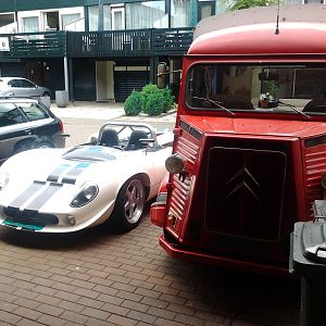 GD T70 Spider & Citroen HY