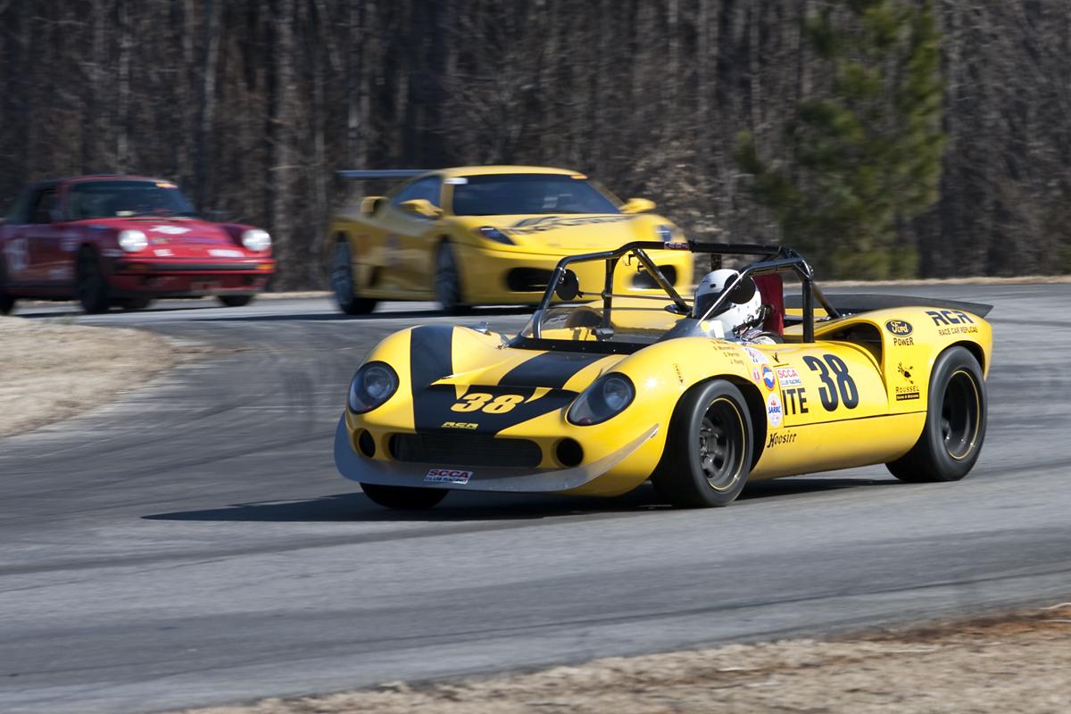 Racing a GT40 Replica was