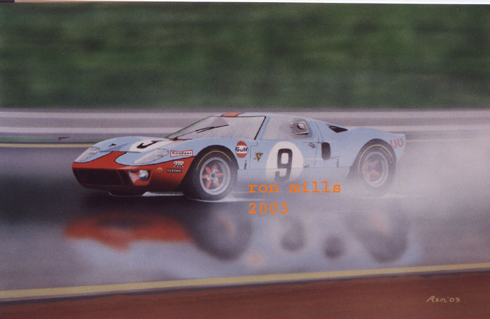 1968 Le Mans winner by Ron Mills