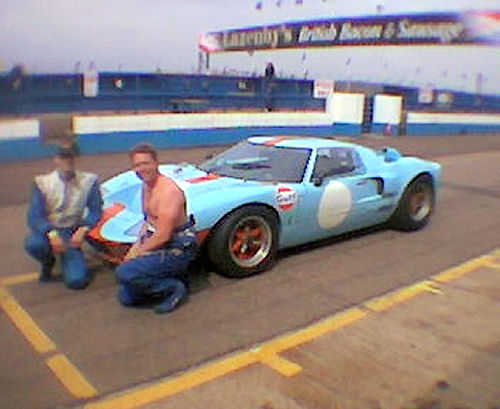 GT40 at Donnington
