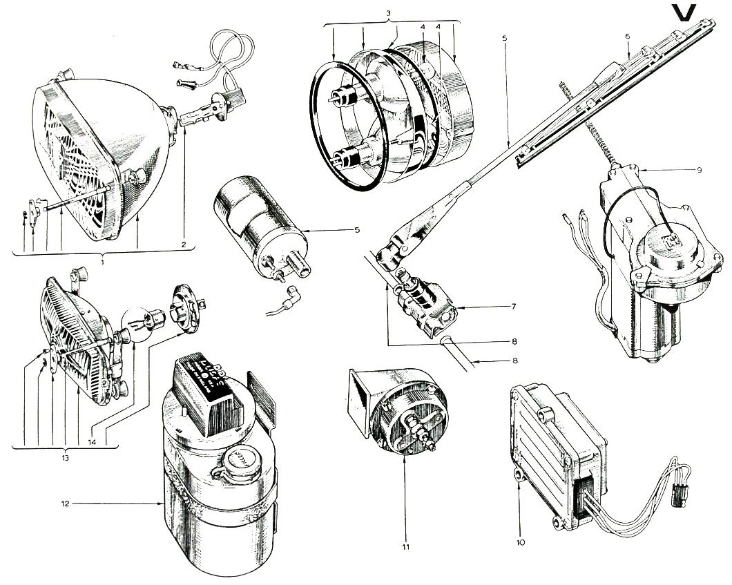 Parts Book, Misc.