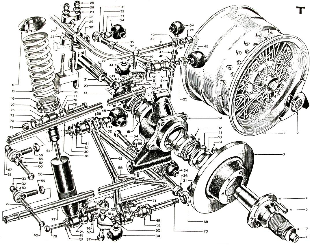 Parts Book, Rear Suspension